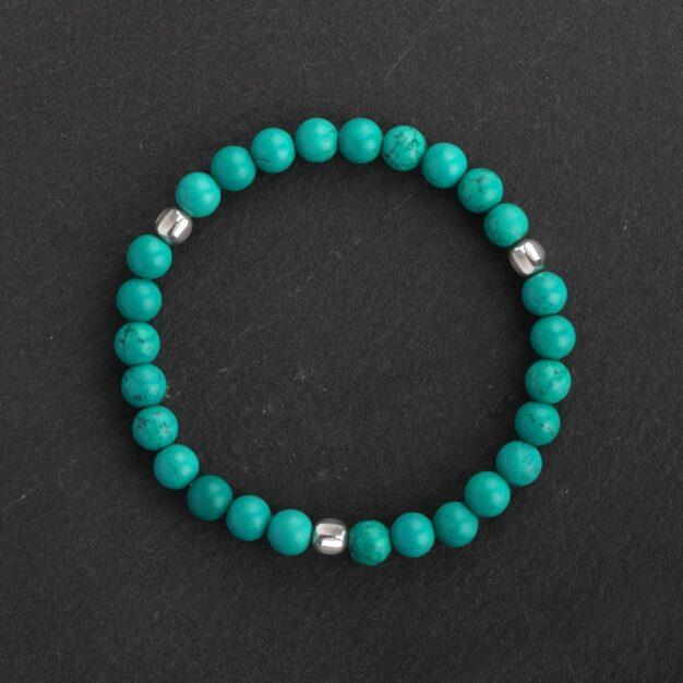 Ocean for Men - Turquoise & 925 Sterling Silver Bracelet