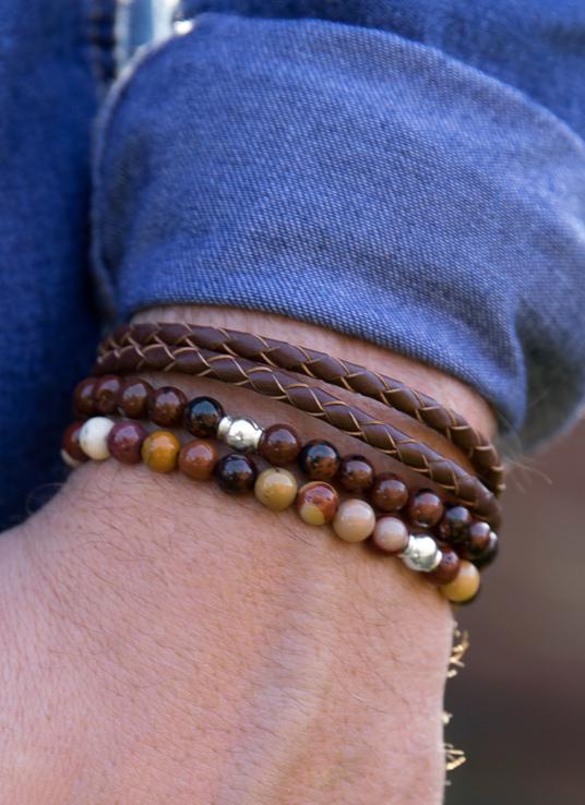 Mens-bracelets-stack