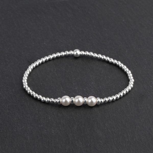 Megberry-Sterling-silver-white-pearl-bracelet
