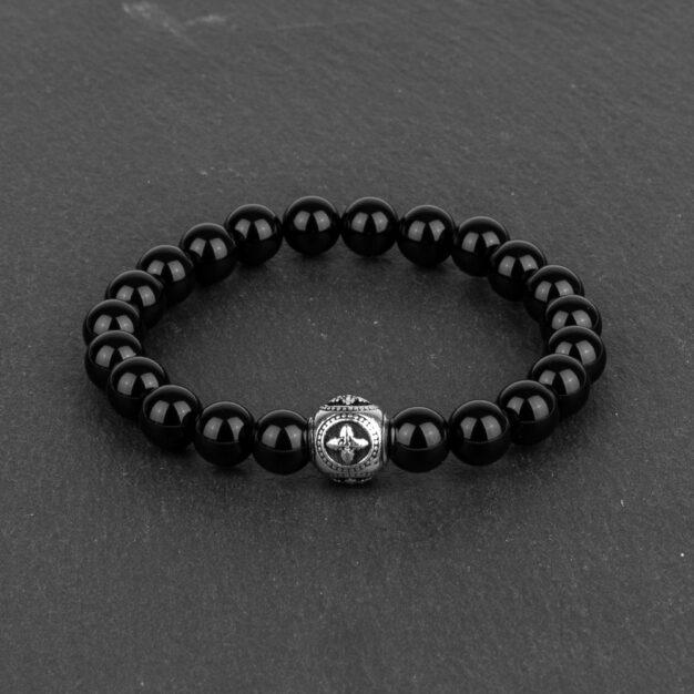 Limited Edition Black Onyx & Sterling Silver Bracelet