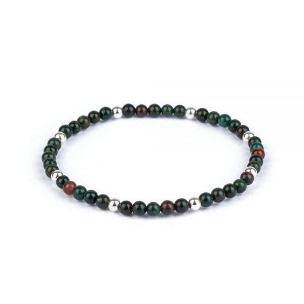Megberry Bloodstone Beaded bracelet