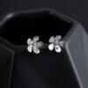 Megberry Freesia Stud Earrings