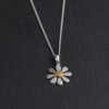 Megberry Daisy Sterling Silver Necklace