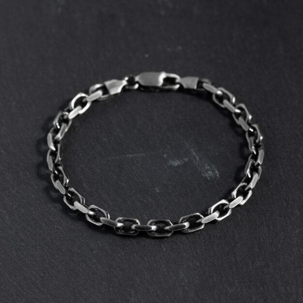 Megberry Chunky Anchor Chain Bracelet