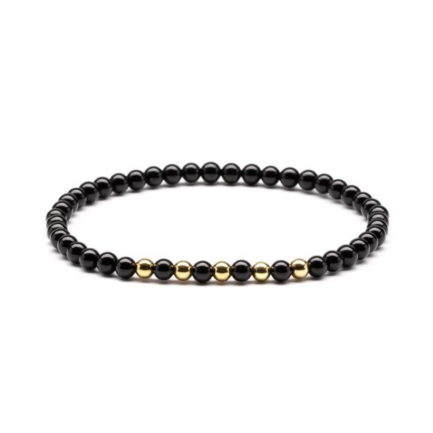 Megberry Essentials for Men Black Onyx Gold