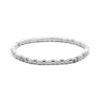 Megberry Essentials for Men White Howlite & Sterling Silver Beaded Bracelet
