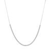 Megberry Dainty Beaded Chain Necklace